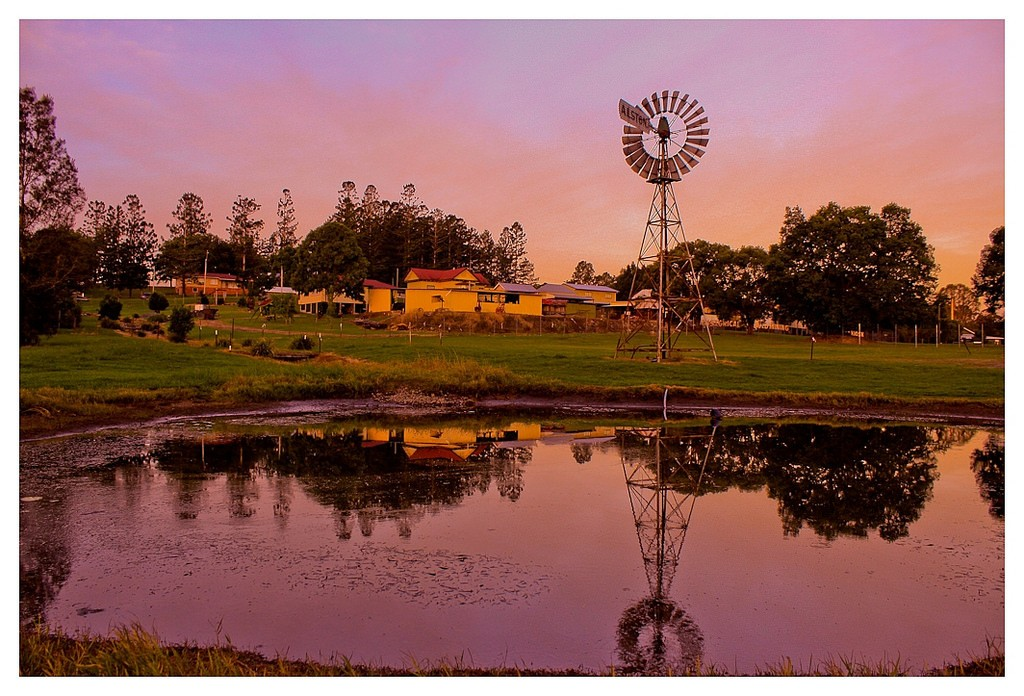Gympie Gold Mining Museum at sunset